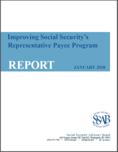 Improving Social Security's, January 2018 Cover Page