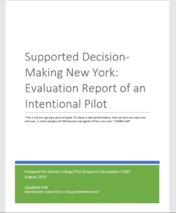 image of the cover of the report with title in large font and blue and green trim